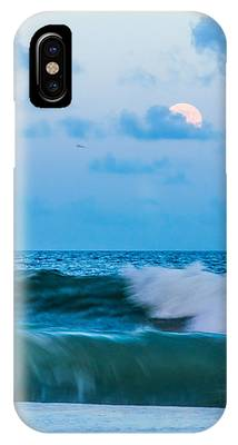 August Blue Moon IPhone Case by Francis Trudeau