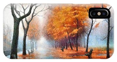 Autumn Boulevard IPhone Case