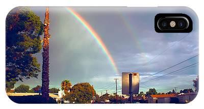 Back To School Rainbow IPhone Case