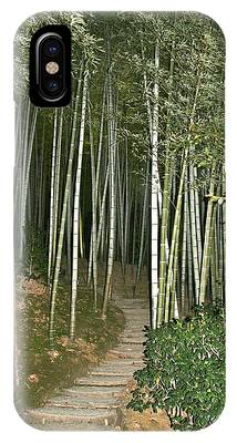 Bamboo Forest Pathway IPhone Case