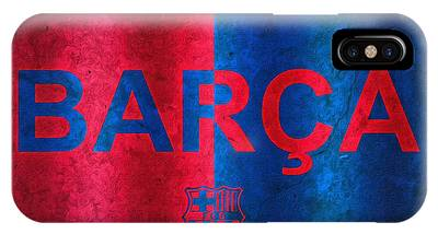 Barcelona Football Club Poster IPhone Case