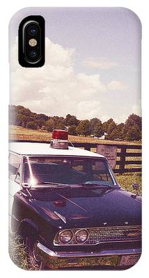 Barney Fifes Police Car Phone Cases