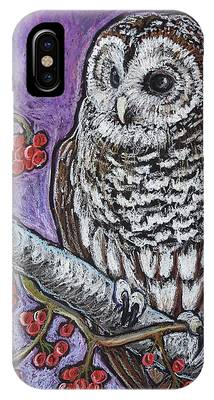 Barred Owl Phone Cases