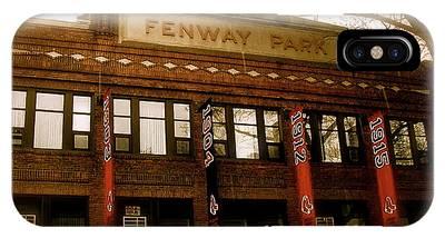 Fenway Park Photographs iPhone Cases