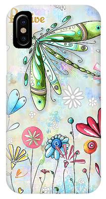 Metal Dragonfly Phone Cases