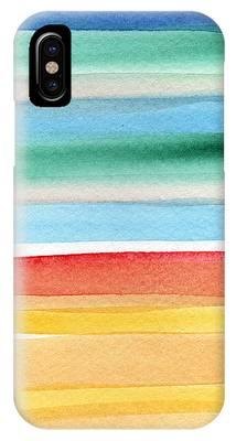 Beach Cottage Art Phone Cases