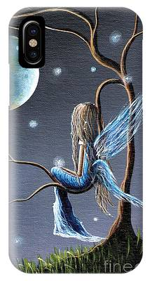 Angel Blues Phone Cases