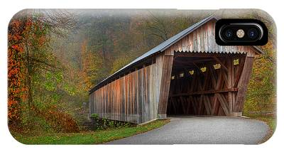 Bennett Mill Covered Bridge IPhone Case