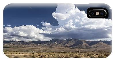 Big Mountains Bigger Clouds IPhone Case