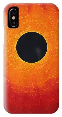 Black Hole Sun Original Painting IPhone Case