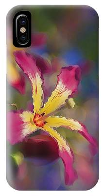 Bloomin Hong Kong Orchid IPhone Case