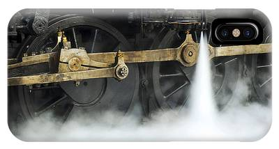 Blowing Of Steam IPhone Case