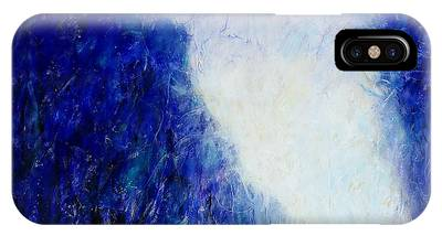 Blue Landscape - Abstract IPhone Case
