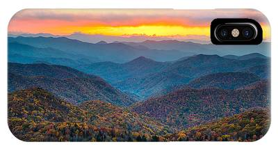 Mountain Sunset IPhone Cases