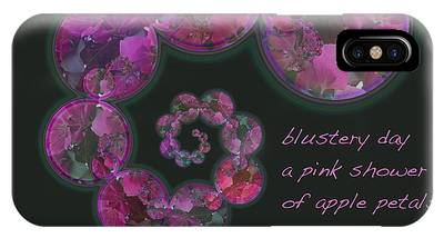 Blustery Day Haiga IPhone Case