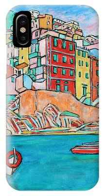 Boats In Front Of The Buildings X IPhone Case