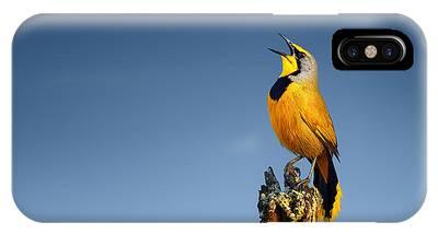Yellow Bird Phone Cases