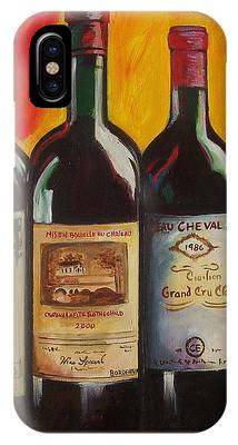 Wine Art Paining iPhone Cases