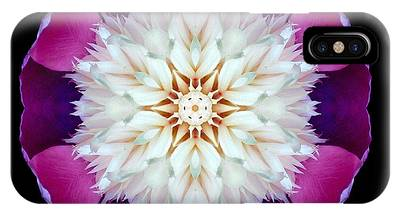Bowl Of Beauty Peony II Flower Mandala IPhone Case