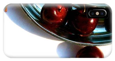 Bowl Of Cherries IPhone Case