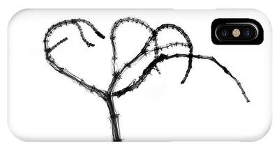 Branching Plant Stem Phone Case by Albert Koetsier X-ray