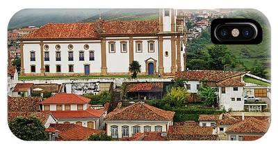 Brazil, Minas Gerais, Ouro Preto, View Phone Case by Anthony Asael
