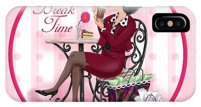 Break Time IPhone Case