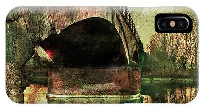 Bridge Over The Canal IPhone Case