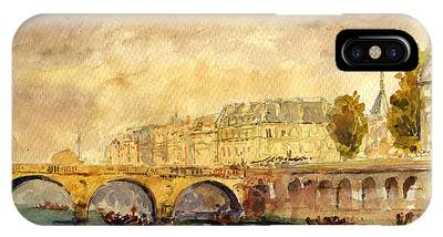 Seine River Phone Cases