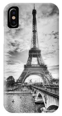 Bridge To The Eiffel Tower IPhone Case