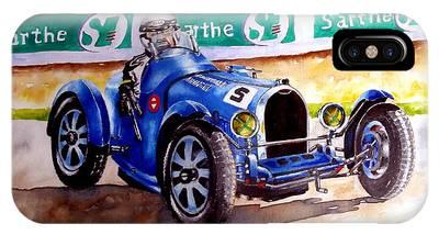 Bugatti 35b Phone Case by Anne Dalton