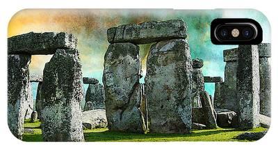 Stonehenge Phone Cases