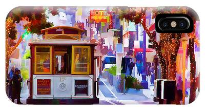 Trolley Car Phone Cases