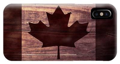 Canadian Flag I IPhone Case