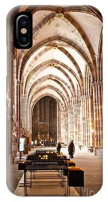 Cathedrale Notre Dame De Strasbourg France IPhone Case by Richard J Thompson