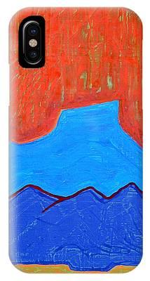 Cerro Pedernal Original Painting Sold IPhone Case