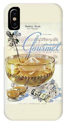 Champagne Punch And The Wedding March IPhone Case