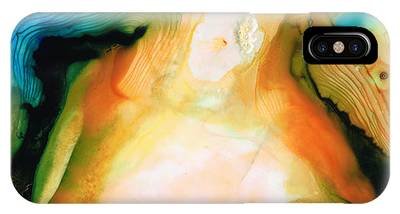 Earthy Abstract Art Phone Cases