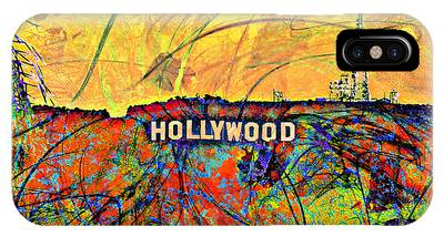 Hollywood Sign Phone Cases