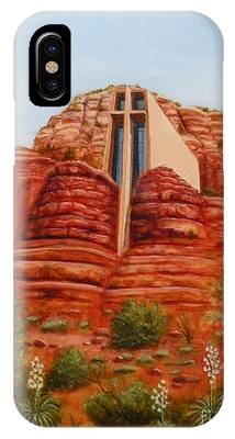 Chapel Of The Holy Cross IPhone Case