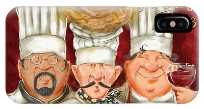 Chefs With Fresh Eggs IPhone Case