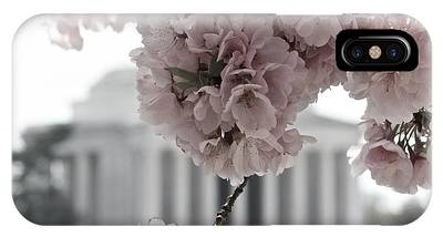 Cherry Blossoms At Jefferson Memorial IPhone Case