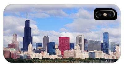 Chicago Skyline Over Lake Michigan IPhone Case