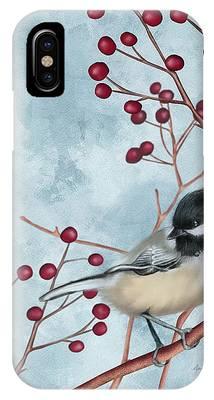 Chickadee I IPhone Case