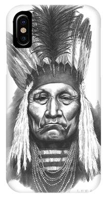 Indian Portraits Phone Cases