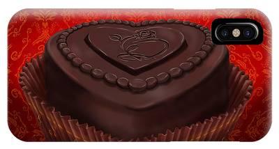 Chocolate Dark IPhone Case