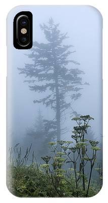 Clingman's Fog II IPhone Case
