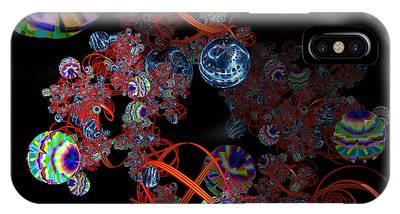 Modern Microscopic Art Phone Cases