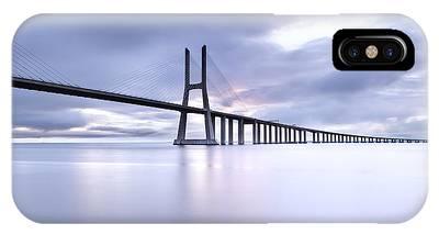 Vasco Da Gama Bridge Phone Cases