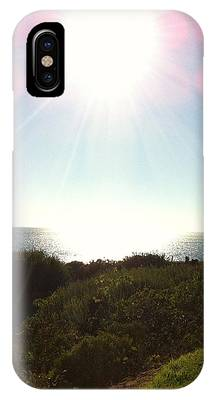 Colored Rays Of The Sun IPhone Case